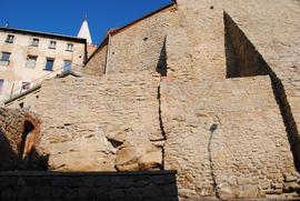 Mury obronne w Bystrzycy Kłodzkiej przy ul. Mędzyleśnej