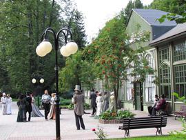 Park Zdrojowy w Długopolu-Zdroju