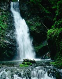 Rezerwat Wodospadu Wilczki w Międzygórzu