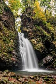 Wodospad Wilczki w Międzygórzu