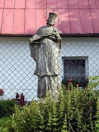 Pomnik św. Jana Nepomucena w Starym Waliszowie