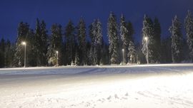 Galeria Oświetlone trasy narciarskie