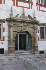 Wejście do Centrum Informacji Turystycznej, Plac Wolności 17