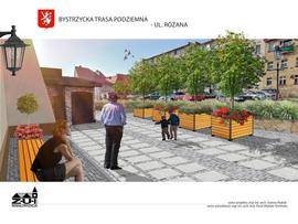 Podziemia przy ul. Kupieckiej w Bystrzycy Kłodzkiej - wizualizacja