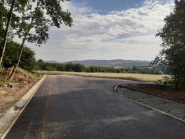 Galeria Góra Parkowa I i II etap - droga dojazdowa RFIL