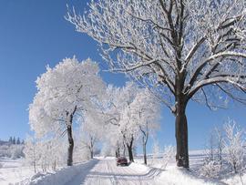 Zima w Górach Bystrzyckich