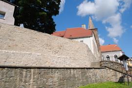 XIV wieczne mury obronne po rewitalizacji