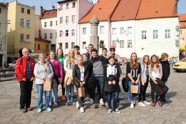 Zwiedzanie Bystrzycy_Młodzież ZSP w Bystrzycy
