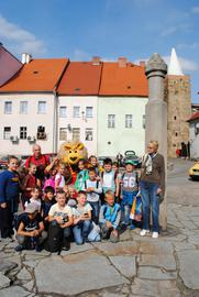 Zwiedzanie Bystrzycy_Uczniowie SP nr 6 w Kłodzku