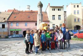 Zwiedzanie Bystrzycy_Uczniowie SP w Długopolu Dolnym